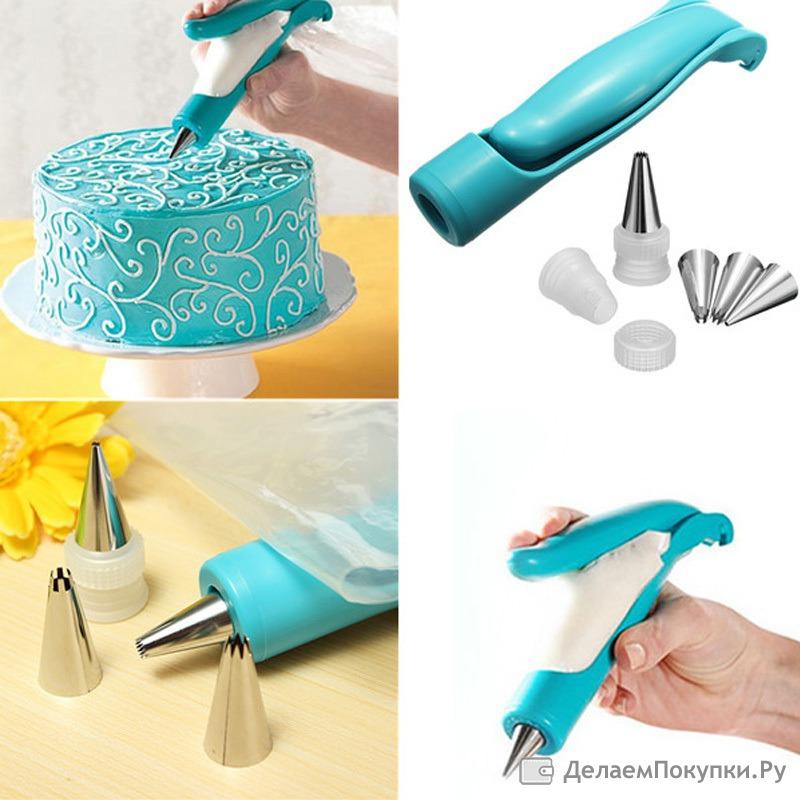 Прибор для украшении тортов