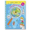 """Книга с наклейками + карта мира """"Путешествуй по миру. Европа и Азия. Книга 1"""""""