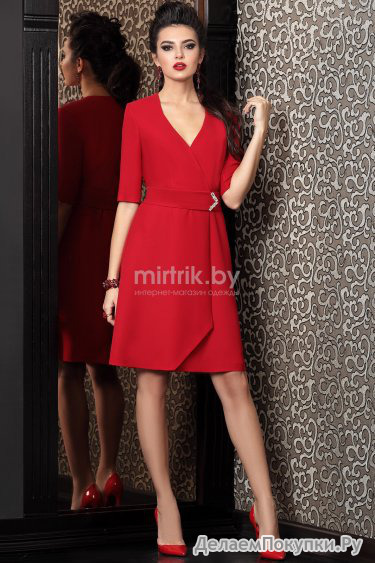 468Модели красных платьев