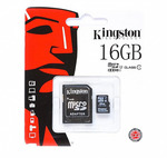 Карта памяти Kingston SDC10G2/16GB