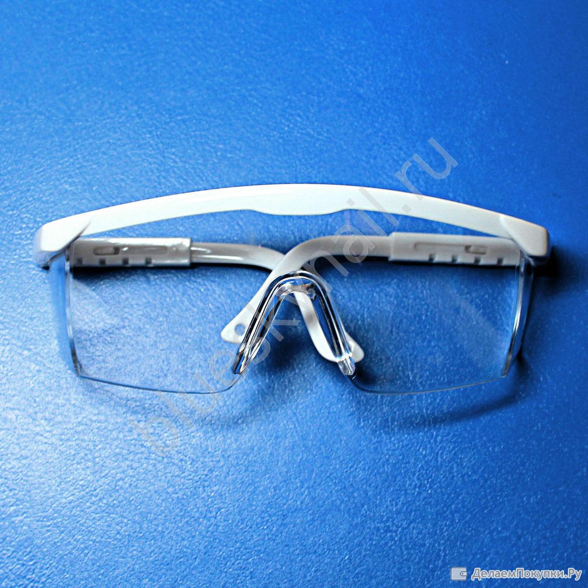 Защитные очки для мастера маникюра