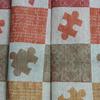 Ткань льняная декоративная Пазл хлопок40/лен60 шир 158 см