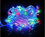 Новогодняя гирлянда светодиодная разноцветная (8 метров)