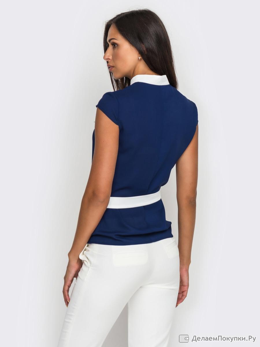 Блузка из гипюра для полных доставка