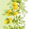 Вафельное полотно Лимон, ширина 50см