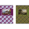 Тетрадь ACTION! ШОТЛАНДКА, мелованный картон, уф-лак, клетка, ф. А4,  80 л., 2 дизайна