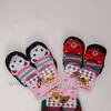 2025 Роза носки тапочки детские тёплые вязанные