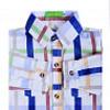 Рубашка Cutelittle kids - Белый, Синий цвет 184551