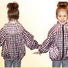 Куртка (ветровка) для девочек (цвет в ассортименте)