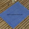 Коврик для ног нескользящий голубой