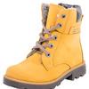 55204442 желтый ботинки дошкольно-школьные нат. кожа 30-37 (Зима)