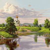 Картины-раскраски по номерам 40*50 GX 9829 Любимая Родина