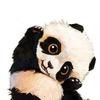 Картины-раскраски по номерам 30*40 E 120 Милашка-панда