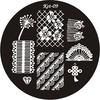 ЭК Плитка для стемпинга диск Kst- 09