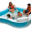 Семейный надувной бассейн Intex: 229х229х66 см.