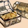 Шоколад фигурный «Сундучок», 160 гр.