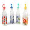 "52381 - Бутылка для масла стеклянная ""Роспись"" 250мл, 4,5х4,5х25см, матовое стекло, цветная коробка (Китай)"