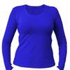 Женская футболка с длинным рукавом «без принтов»/ 12 расцветок