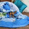 Одеяло верблюжья шерсть в полиэстере 300 гр. ОПЭВШ