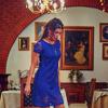 Платье 1065 электрик ажур, красный