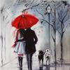 "Картина по номерам оптом ""Яркий зонт"": GX9872 (40x50)"