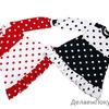 Платье Матрешка (Милаша) цвет красный/ белый