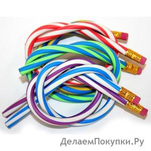 Гнущиеся карандаши (набор 5 шт)