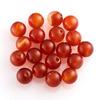 Бусина сердолик оранжевый Ботсвана шарик 6 мм (1 шт)