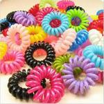 Резинки для волос Пружинки разноцветные (набор 3 шт)