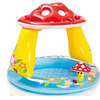 Детский надувной бассейн Intex с навесом: 102х89 см.