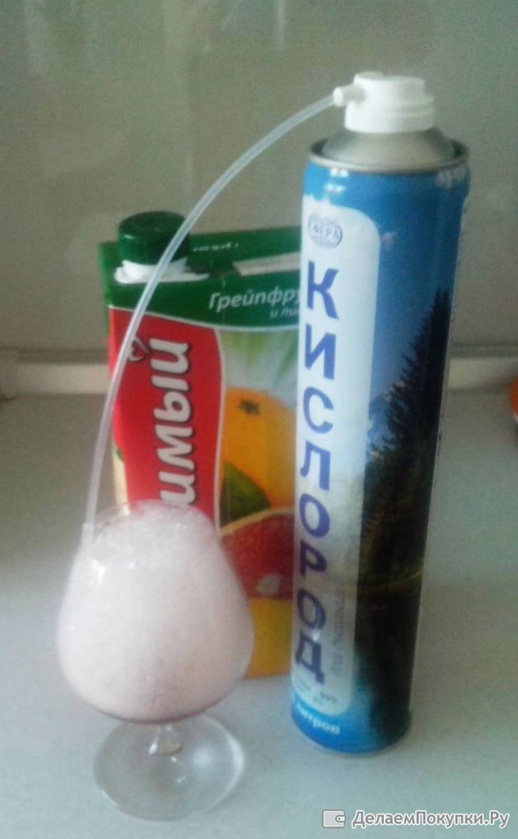 Приготовление кислородного коктейля в домашних условиях