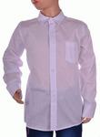 Рубашка белая оптом F82563