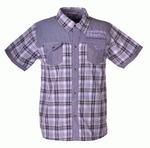 Рубашка для подростков оптом B911 серый
