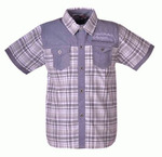 Рубашка для подростков оптом B911 антрацит