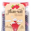 Иван-чай карельский с ягодами брусники