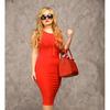 Платье Агнес красное
