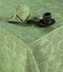 Набор столового белья Льняная палитра (фисташка)