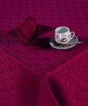 Набор столового белья Шарлотта (бордо)