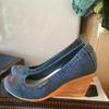 Туфли джинсовые 609-04
