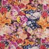 Футер 2-х нитка петля Цветы