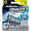 Gillette Mach3 Turbo сменные лезвия (6 шт)