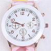 Bozz Easy Read Young Girls Children Kids Watches For Over 10 Years Old, Colorful Princess Silicon Strap