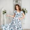 Платье 1173а (текстиль), размер 42-54