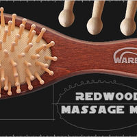 Массажная расчёска RedWood Massage Midi
