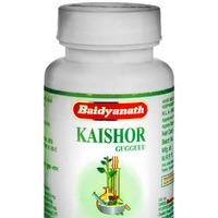 Кайшор Гуггул, 80 таб, производитель Байдьянатх; Kaishor Guggulu, 80 tabs, Baidyanath