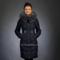 Женская куртка зимняя 1723 искусственный мех