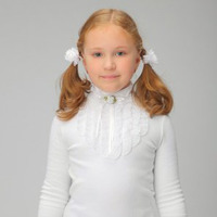 Блуза школьная, модель 0608,размеры 158-164. РАСПРОДАЖА!