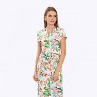 Платье с принтом PL881/soprana