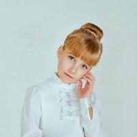 Блуза школьная, модель 0657