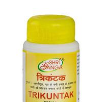 Трикунтак, здоровье почек, 100 таб, производитель Шри Ганга; Trikuntak, 100 tabs, Shri Ganga